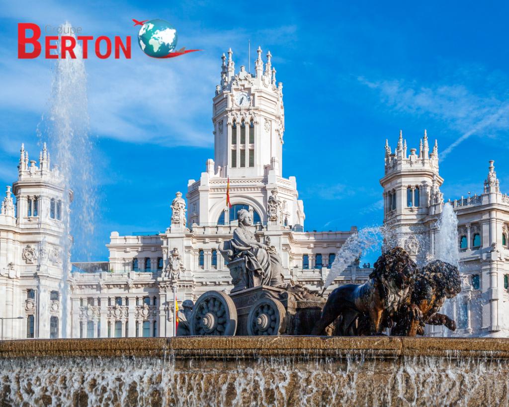 déménagement Madrid