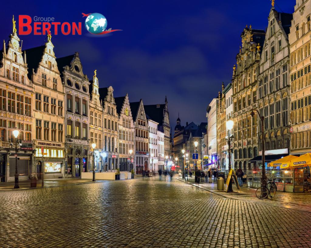 déménagement Anvers