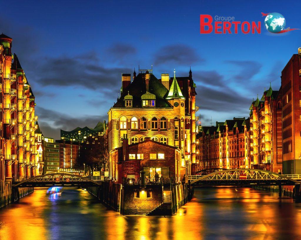 déménagement Hambourg